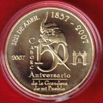 Medalla 150 Aniversario H. Caborca 2007 Laton, En $750 Rm4