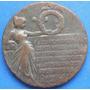 Medalla Mexico De La Independencia Cobre 1910