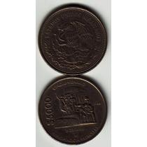 Moneda 5000 Expropiacion Petrolera Cincuentenario