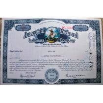 Bono Accion Usa Banco Aseguradora Aig 1967 !!!!