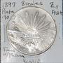 Aaaa 1897 8 Reales Zs Rara Moneda Mexicana Peso Ms Plata Igz
