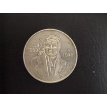 Moneda De Plata Pura De 100 Pesos .720 Vbf