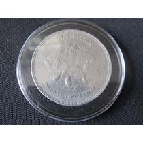 Moneda Tortuga Gigante Santa Elena 25 Pence