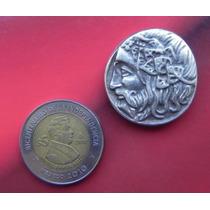 Moneda Griega Plata
