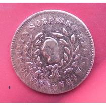 Moneda México 1/4 Real Sinaloa Año 1859 Cobre