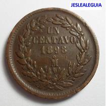 1 Centavo 1898 Mo República Mexicana - Águila De Perfil