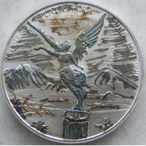 Moneda Mexico 2015 Onza Troy Plata Patiana Hermosa