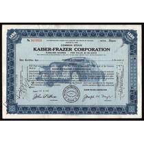 Antigua Accion Auto Kaiser-frazer Corporation !!
