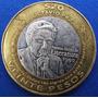 Moneda Bimetalica $20 Conmemorativ Octavio Paz 2010 714n6u15