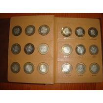 Toda La Colección De Monedas De Los Estados
