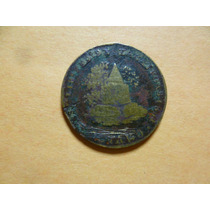 Antigua Moneda De 1/8 R. De Zacatecas Año De 1851. Escasa.