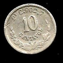 10 Cvs Plata 0.800 Potosi 1888