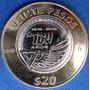 Ae Moneda Conmemorativa 20$ Centenario Fuerza Aerea 714n6u15