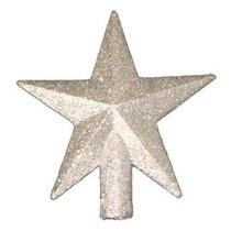 4 Tesoros Petite Plata Brillado Mini Estrella De Navidad Ár