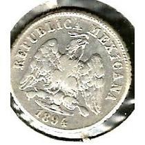 10 Cvs Plata 0.800 Guanajuato 1894