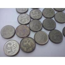 Monedas Antiguas Vintage 5 Pesos Varias Fechas