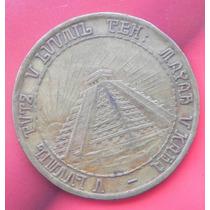 Medalla Mexico 400 Anv Fundacion De Merida Yucatan 1942