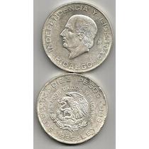 Moneda De 10 Pesos Hidalgo 1955