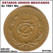 5 Cent 1921 Mo Eum