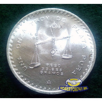 Moneda Una Onza Troy De Plata Pura!!!!