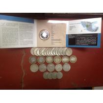 Colección Monedas De Plata (lote Completo)