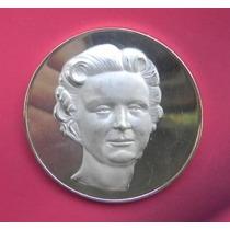 Medalla Mexico Visita De La Reina De Holanda Color Oro Plata