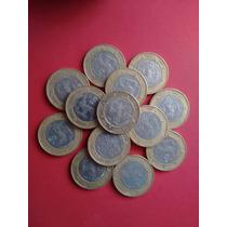 Oferta Monedas De Veinte Pesos, Fuego Nuevo Año 2000