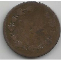 Centavo Maximiliano 1864 Pobre Condicion (1)