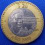 Moneda Bimetalica $20 Conmemorativ Octavio Paz 2000 714n6u15