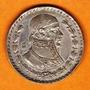 Moneda Morelos Un Peso, Plata 0.100 Tepalcate 1957-1967