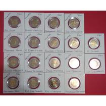 Colección Monedas Cinco Pesos Sin Circular