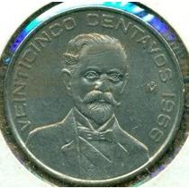 25 Centavos 1966 Y 1964