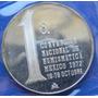 Medalla Numismatica 1 A Convencion Nacional Plata Ley 900
