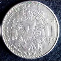 Moneda Antigua 50 Pesos Coyolxauhqui 1984