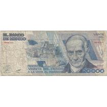20 Nuevos Pesos Con Marca De Agua