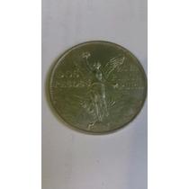 Moneda De Plata Dos Pesos Victoria 1921 Perfecto Estado Cent