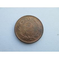 Moneda 2 Centavos 1941 Excelente Estado Sin Circular