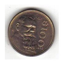 Monedas De 100.00 Venustiano Carranza,bronce 1000 Piezas
