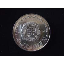 Medalla Conmemorativa De La Moneda Mexicana,primera Acuñacio