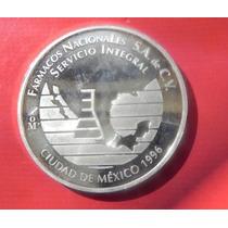 Medalla México Fármacos Con Calendario Piedra De Los Soles