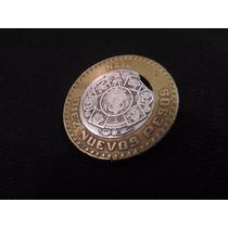 Moneda 10 Pesos 1992 Con Error De Acuñacion Unica