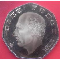 Moneda Nexico 10 Pesos 1982 Proof Muy Escasa Solo 150pcs