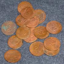 Moneda Brigada Francisco I Madero 20 Centavos De 1915