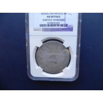 Moneda Mexico 8 Reales 1835 Durango Aguila Francesa Escasa