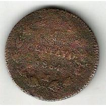 Centavo Maximiliano 1864 Pobre Condicion (4)
