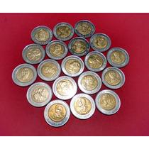 Monedas 5 Pesos Sin Circular Revolución Independencia