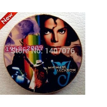 Moneda Conmemorativa Michael Jackson 1.2 Onzas Chapa De Oro
