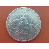 Moneda Un Peso Caballito Plata 1910