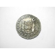 1 Real Carlos Iiii Fecha 1807 Ceca Mo Plata Ley 0.917 20mm