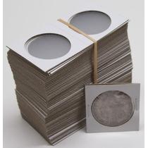 Cartones Para Monedas 100 Piezas 2.5 X 2.5 Grandes